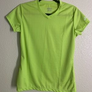 ASICS Green Workout Tee size Small!